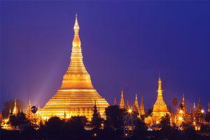 Shwedagon Paya temple, Yangon